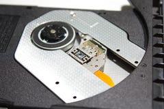 DVD/CD optisches Laufwerk II stockbilder
