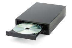 DVD-CD-Recorder auf lokalisiert Lizenzfreie Stockfotos