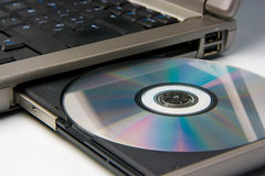 Dvd cd technology Royalty Free Stock Images