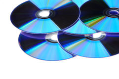 DVD Compact Discs Royalty Free Stock Photography