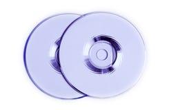 dvd conçu cd s Photographie stock libre de droits