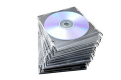 DVD covers Stock Photo