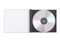dvd de cas image libre de droits