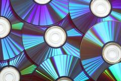 Dvd de disque compact Photographie stock libre de droits