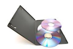 dvd de disques Image stock