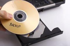 dvd de sauvegarde photos libres de droits