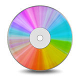 DVD disc Royalty Free Stock Image