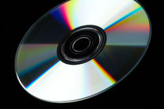 DVD Disc Stock Image