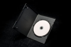 DVD disc in a box Royalty Free Stock Photos