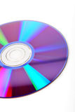 DVD disc detail Stock Photography