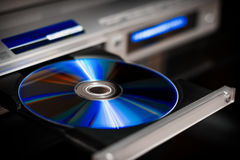 DVD disc eject Royalty Free Stock Photos