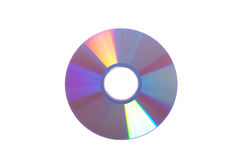Dvd disc isolated Stock Photography