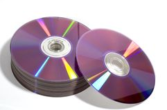 DVD Disc S Royalty Free Stock Image