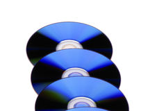 DVD discs Stock Photo