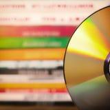 DVD discs Stock Photo