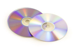 Dvd disk Stock Image