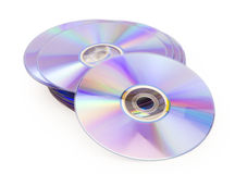 Dvd disk Stock Photo