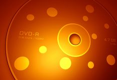 DVD disk. 2D digital  art Royalty Free Stock Photos