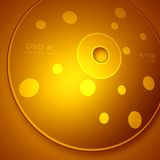 DVD Disk Royalty Free Stock Image