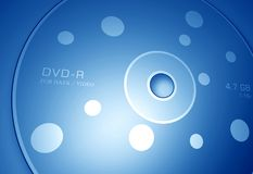 DVD disk Royalty Free Stock Photos
