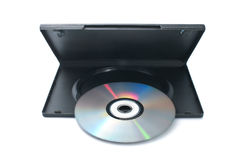 DVD disk with case Stock Images