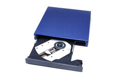 Dvd disk drive Stock Photos
