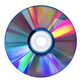 DVD Disk. Isolated on white Royalty Free Stock Images
