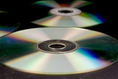 DVD-Disketten Lizenzfreies Stockfoto