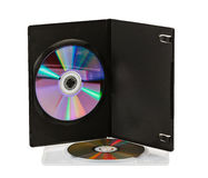DVD disks Royalty Free Stock Photography