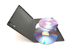 Dvd disks Stock Image