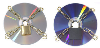 DVD disks Stock Photos
