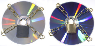 DVD disks Stock Photo