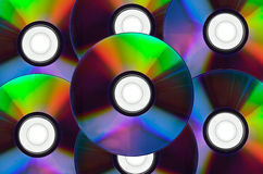 DVD disks Royalty Free Stock Photos