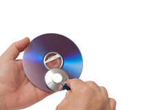 Dvd doctor Stock Photography