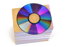 DVD and documents Royalty Free Stock Photo