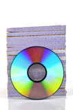 DVD and documents Stock Photography