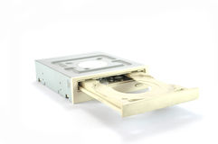 DVD Drive Royalty Free Stock Photo