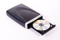 DVD Drive Royalty Free Stock Images