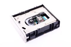 DVD Drive Inside Royalty Free Stock Photography