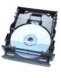 DVD drive Stock Images