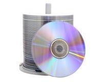DVD dysk Zdjęcia Royalty Free