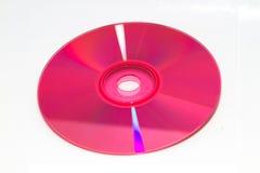 DVD e CD di colore Fotografie Stock