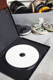 Dvd e 8 milímetros velhos e Super8 Fotos de Stock