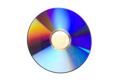 DVD em branco Fotografia de Stock Royalty Free