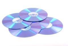 Dvd em branco. Imagem de Stock