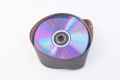 DVD en Filmstrip Stock Foto's