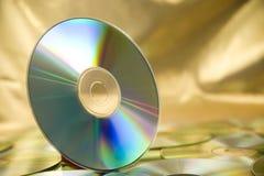 dvd för cd 2 royaltyfri bild