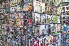DVD i Błękitny Ray Zdjęcie Stock