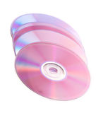 DVD isolated Royalty Free Stock Photo