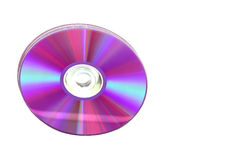 Dvd isolated Stock Image